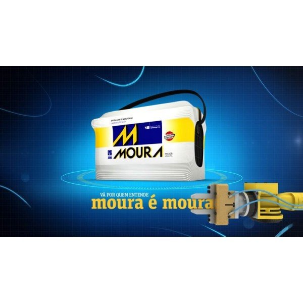 Bateria Automotiva Moura